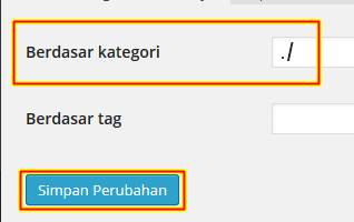 Cara Hapus Tulisan category di WordPress