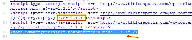 Cara Hapus Versi WordPress Secara Total Versi Terbaru