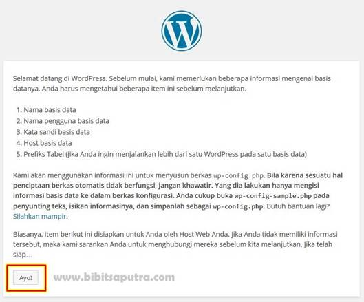 Instalasi WordPress Manual
