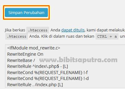 Pengaturan Permalink WordPress