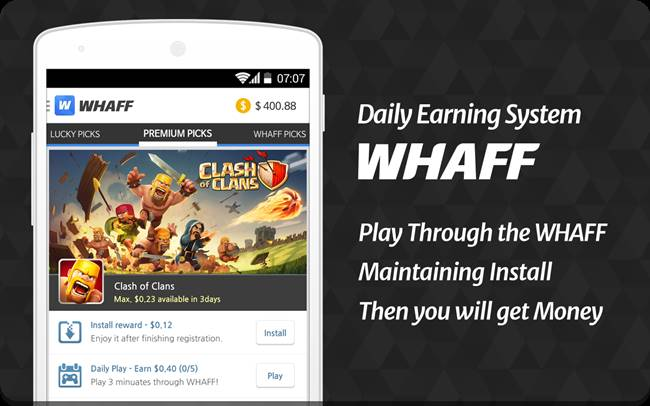 Download APK WHAFF Rewards Terbaru