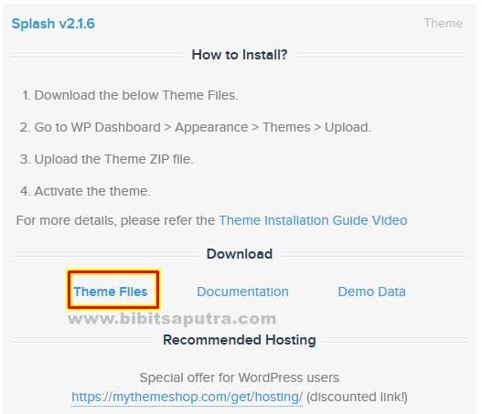 Free Download Theme File of Splash MTS .zip