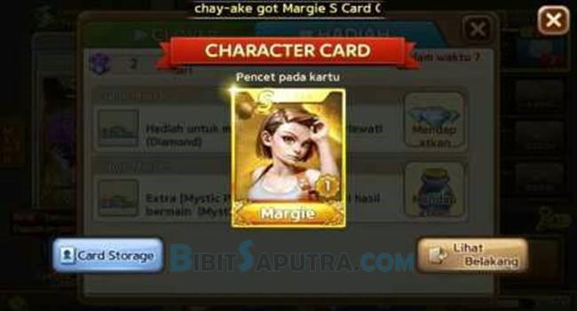 Trik Mendapat Kartu Margie A+ Gratis LINE Lets Get Rich Terbaru