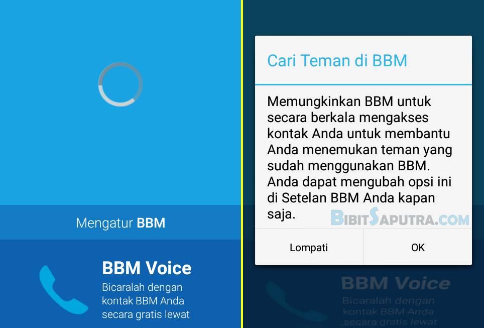 cara masuk bbm android