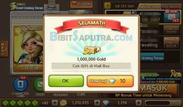 Cara Dapat Bonus 1 Juta Gold Gratis LINE Lets Get Rich Terbaru
