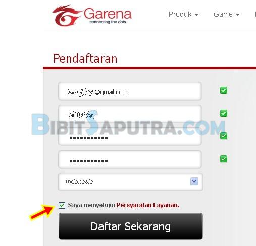 Cara Daftar Point Blank Garena Indonesia