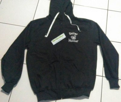 Jaket Dollar Hunter Hitam DEPAN