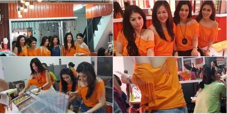 Foto Hot Tante Seksi di Warung Bakso Djingkrak Sunter