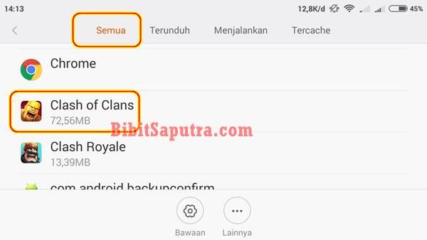 Cara merubah Bahasa Indonesia di Clash of Clans tanpa root