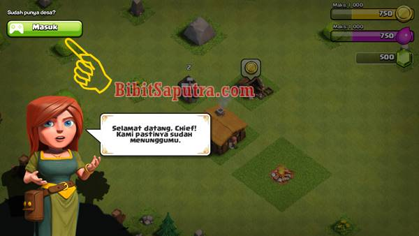 tutorial mengubah bahasa game COC jadi Indonesia gratis apk