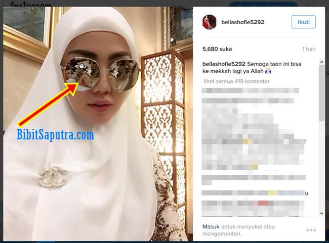 Hot Foto Bella Shofie Berhijab Pakai Celana Pendek Kerudung Cantik